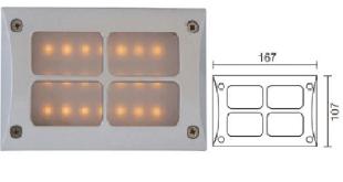 đèn LED chiếu vách